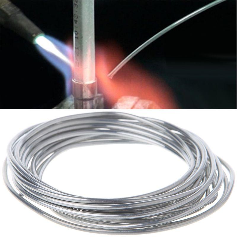2.00mm*3m Copper aluminum weld flux cored wire Low Temperature Aluminium Welding Rod LS'D Tool