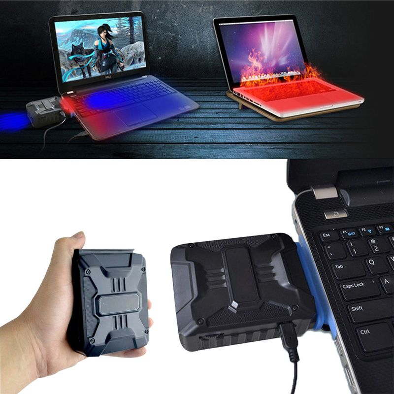 Neue Förderung Mini Cooling Ventilator Vakuum USB Luftkühler Extrahieren Extractor CPU Kühler Für Notebook Laptop PC Prozessor