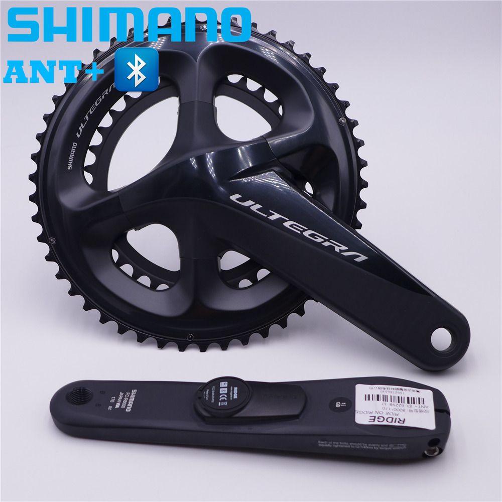 SHIMANO Ultegra R8000 Road Bike Power Meter Crankset Chain Wheel 170mm/172.5mm 50-34T 53-39T 52-36T