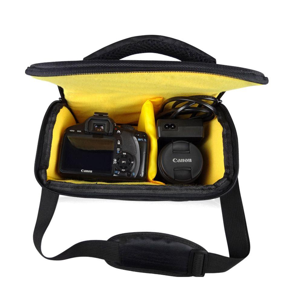 DSLR Appareil Photo Sac À Bandoulière Étanche Pour Nikon D5300 D3400 P900 B700 D7200 D3300 D7500 D5200 D5600 D90 D810 D3200 D7100 D800
