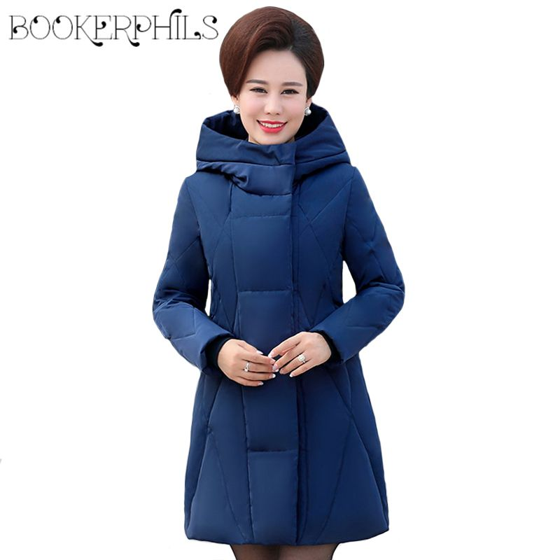 White Duck Down Jacket Winter Women Coat Hooded Autumn Warm Plus Size Thick High Quality Long Down Parka Female Outerwear 6XL