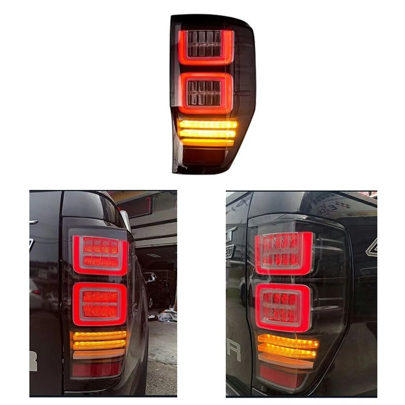 HIGH QUALITY REAR LED TAIL LAMP REAR LIGHTS TURN SIGNAL BRAKE LIGHTS FIT FOR FORD RANGER T6 T7 2012-2017 PICKUP CAR