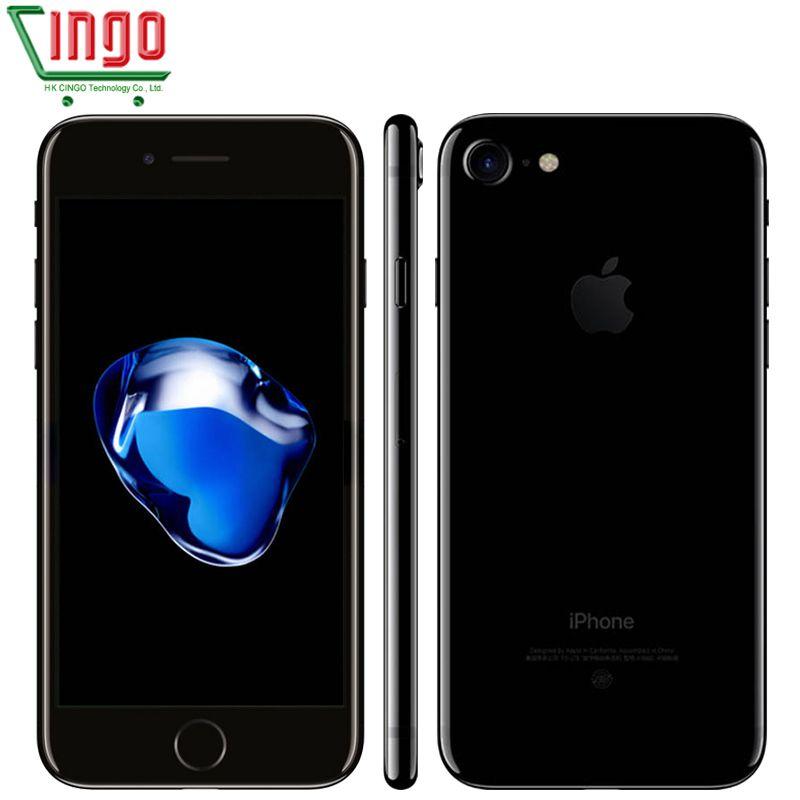 unlocked Apple iPhone 7 2GB RAM 32/128/256GB ROM <font><b>4.7</b></font> IOS Cell Phone 12.0MP Camera Quad Core 4K Video LTE 1960mAh