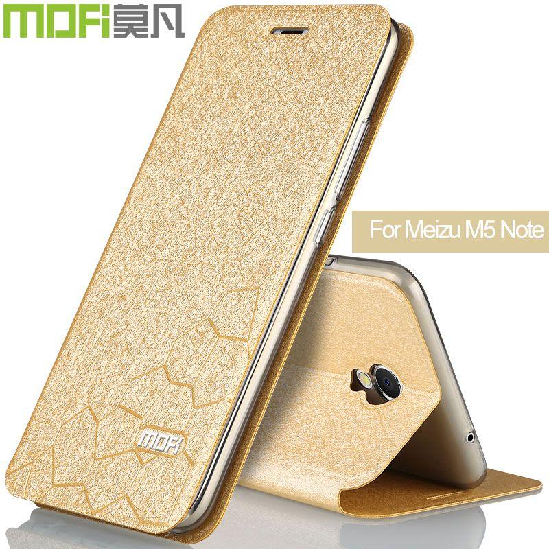 Meizu M5 note housse Meizu m5note flip de luxe cas retour couverture meizu note m5 noir bleu or rose doux silicone mofi