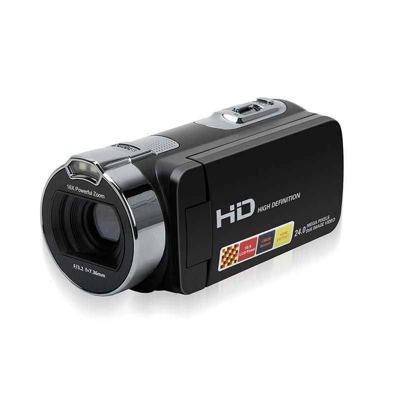 Portable 2.7 Inch Digital Video Camera Camcorders Home-use DV Rotating LCD Screen Point Shoot Cameras EU Plug