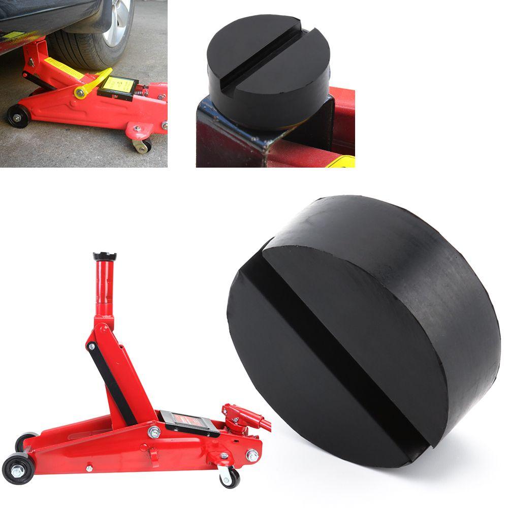 Car Rubber Disc Pad Car Vehicle Jacks Jack Pad Frame Protector Rail Floor Jack Guard Adapter Tool Jacking Lifting Disk