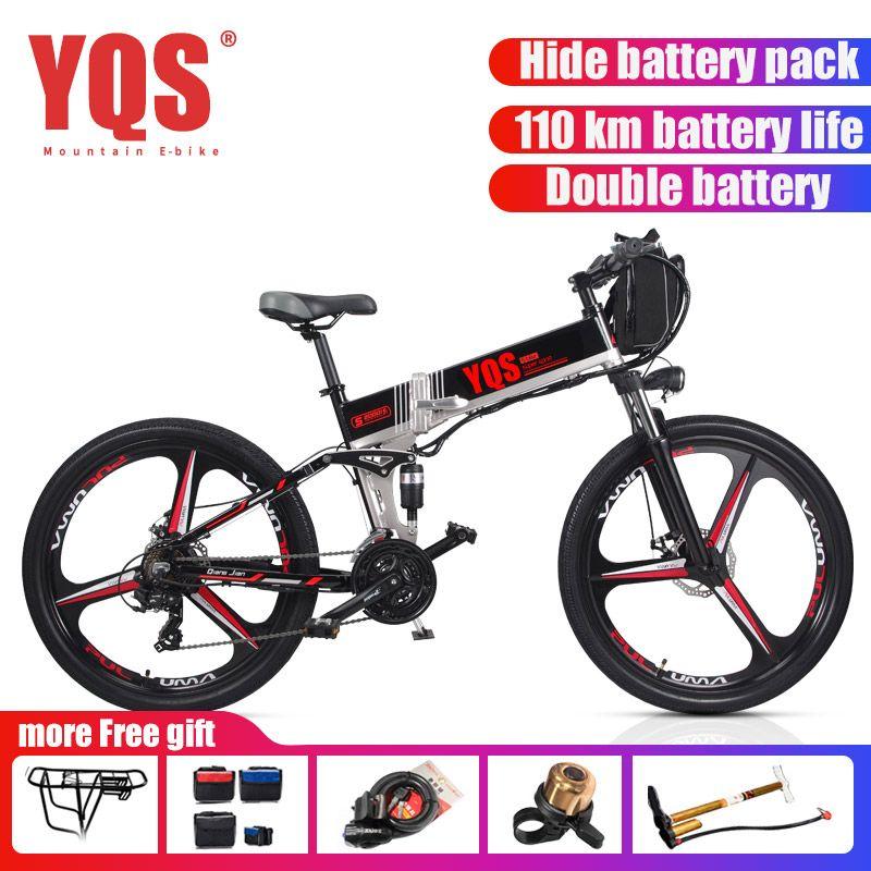 [EU Kostenloser steuer] Elektrische Fahrrad 21 Geschwindigkeit 350 W 110 KM batterie ebike elektrische 26