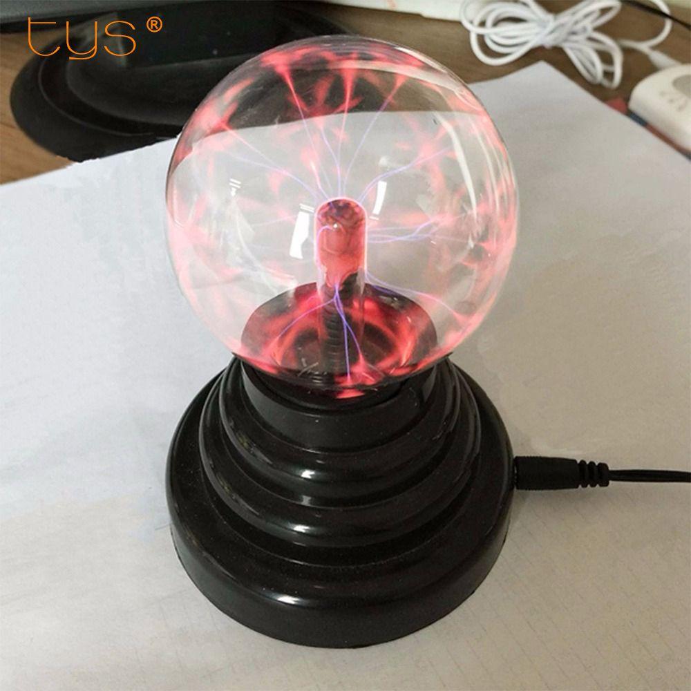 Волшебная Plasma Ball Sphere свет 220 В 3 4 5 6 дюймов Таблица свет ночного lamproom Подарочная коробка новинка кристалл магия Плазменный Шар Освещение