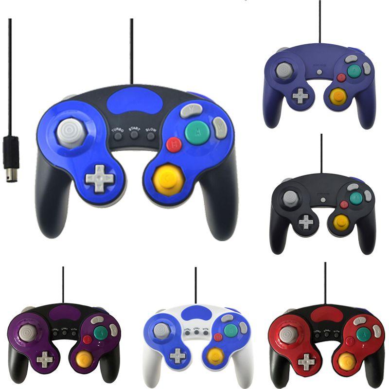 Filaire USB/GC Contrôleur Pour NGC Gamecube Console Ordinateur portable Pour Nintend NGC Gamepad Controle PC GC De Poche Joystick