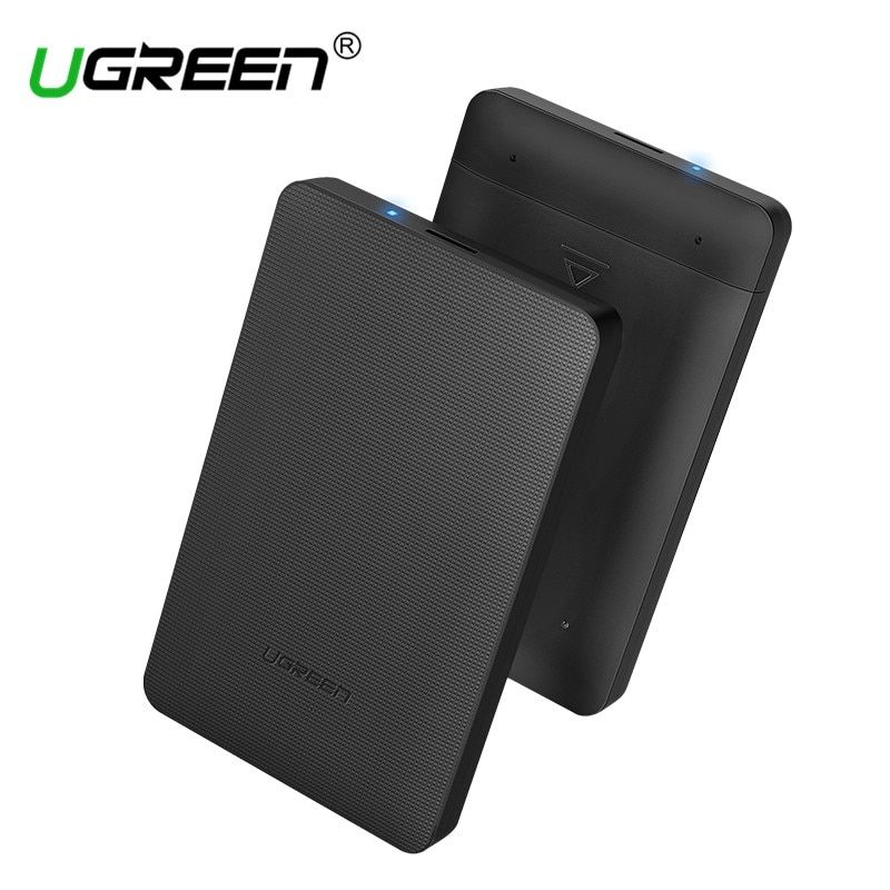 Ugreen HDD Enclosure 2.5 inch SATA to USB 3.0 SSD Adapter Hard Disk Drive Box for Samsung Seagate SSD 1TB 2TB External HDD Case