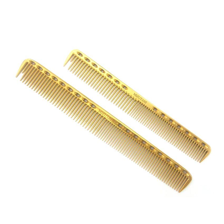 Date coiffure peigne professionnel coiffeur titane peigne Y-335 en 3 couleurs 2 tailles cheveux coupe peigne idéal pour la coiffure