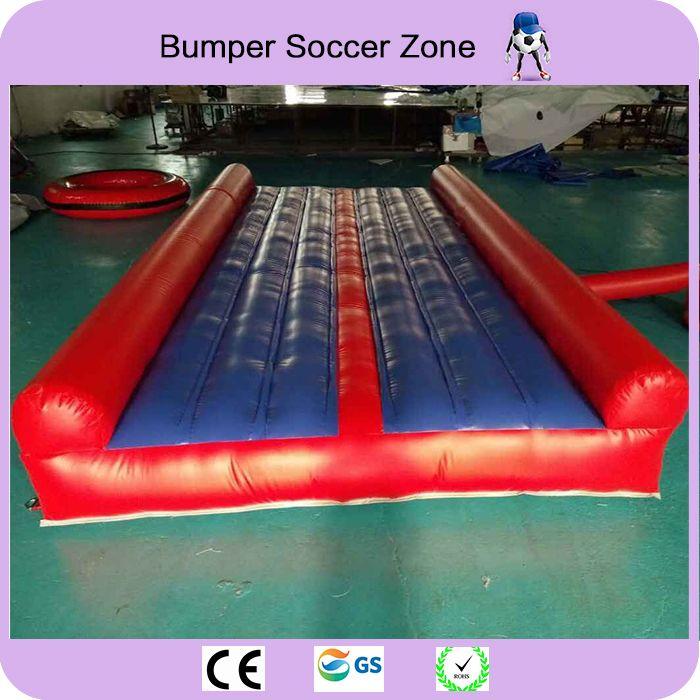 Freies Verschiffen 15*2,7 m und 50 cm hohe Aufblasbare Air Matte Für Gym Aufblasbare Air Track Tumbing Für verkauf Freies ein gebläse