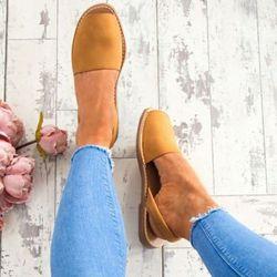 Femmes Sandales Plus La Taille 34-44 Chaussures D'été Femme Peep Toe Simple Sandales Plates Femelle 2018 D'été Sandales Faible Talons zapatos mujer