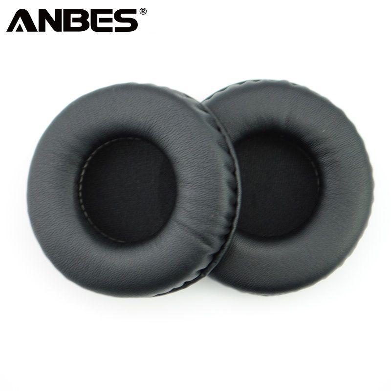 ANBES 75mm Weichen Schwamm Kopfhörer Ohrpolster 1 Para Dauerhafte Ersatz Ohrpolster Pads Abdeckung für Kopfhörer Hochwertigen