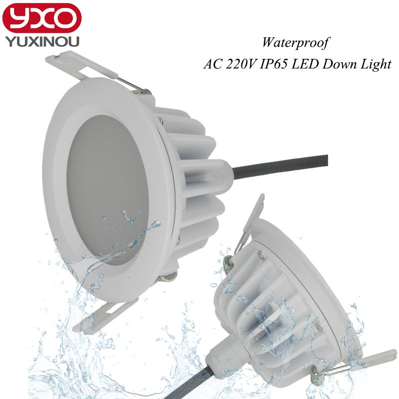 High quality SMD 5730 waterproof dimmable led downlight ip65 round 5W 7W 9W 10w 12W 13w 15W 18w 20w 25w 30w led light