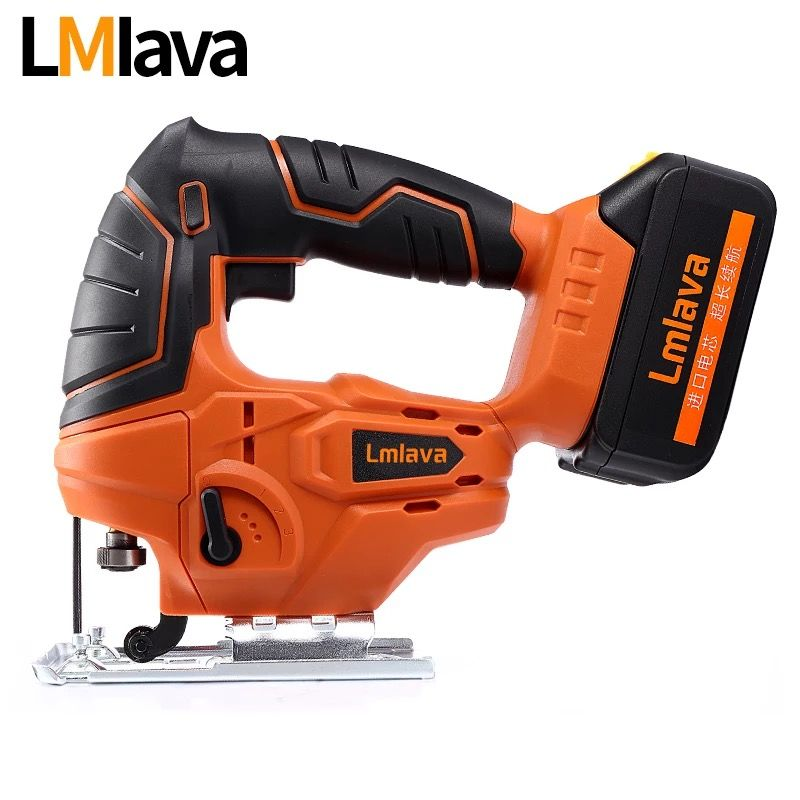20V Cordless jig Saw Jigsaw electric power tools with High Capacity lithium Li-Ion Battery and Charger, Wood Metal saw