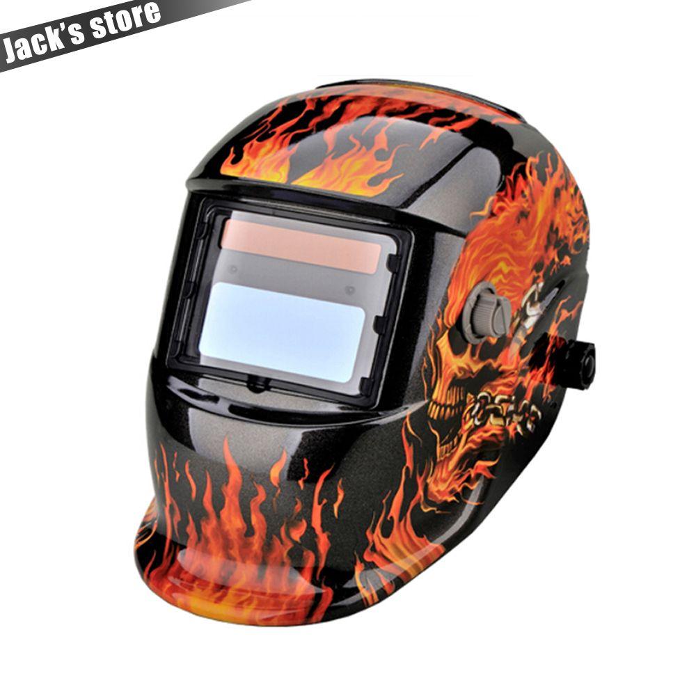 Solar Auto Darkening MIG MMA Electric Welding Mask/Helmet/welder Cap/Welding Lens for Welding Machine