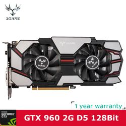 Colorful NVIDIA GeForce iGame GTX960 GPU 2GB DDR5 128bit 2*DVI+HDMI+DP Port PCI-E X16 3.0 Video Graphics Card For Bitcoin Mining
