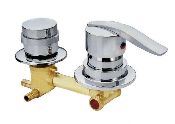 Personnaliser 2/3/4/5 Façons sortie d'eau du robinet en laiton, 2 style vis ou intubation Cuivre cabine de douche salle de douche mitigeur