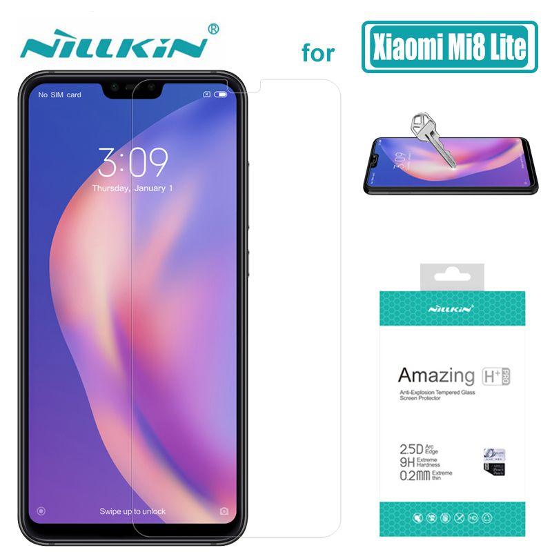 Pour Xiao mi mi 9 mi 8 Lite mi 8 mi 6 mi 9T 9H Nillkin protecteur d'écran en verre trempé H + Pro pour Xiao mi mi 9 mi 8 SE mi 6 9T Pro verre