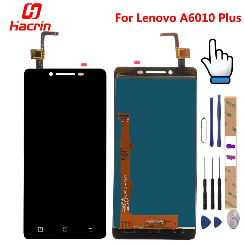 Lenovo A6010 Plus LCD Display + Touch Screen 100% new Digitizer Assembly Replacement Accessories For Lenovo A6010 LCD