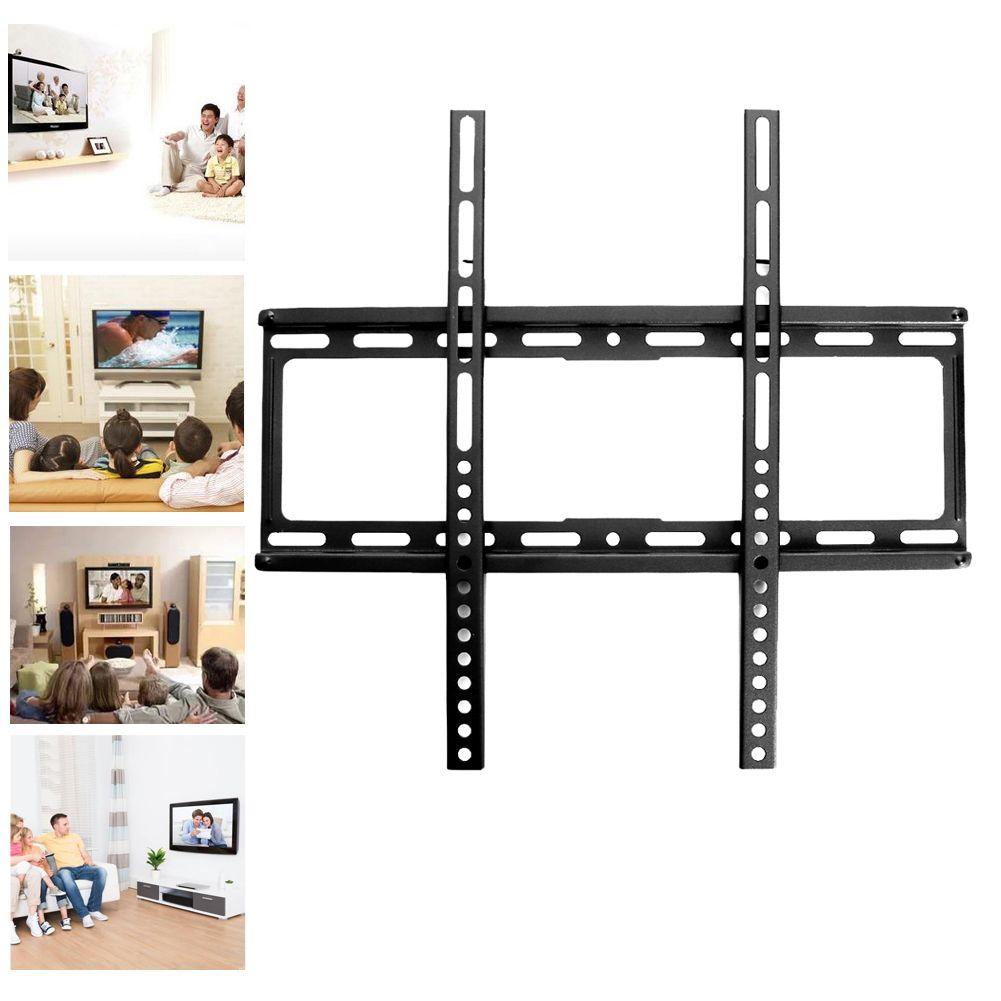 Allgemeine-zweck 26-47-inch Home Wand Tv Ketten-ohrring-ausstellungsstand-zahnstangen-halter w/Schraube Fixiert LCD TV Rack Montiert LCD-B-744 Fernsehen zubehör