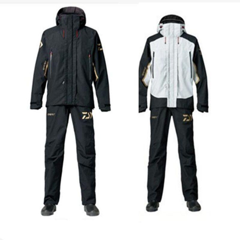2018 hohe Qualität Angeln Kleidung Sets Männer Jacke Atmungsaktive Outdoor-sportbekleidung Anzug Winter Angeln Hemd Hosen Angeln Kleidung