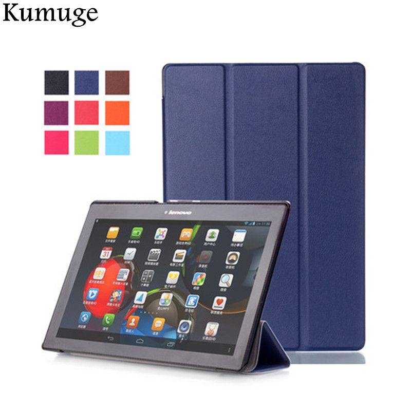 Cas pour Lenovo Tab2 A10-70L/F A10-30 X30F PU En Cuir Coque Couverture pour Lenovo TAB 3 10 entreprise (TB3-X70F) 10.1