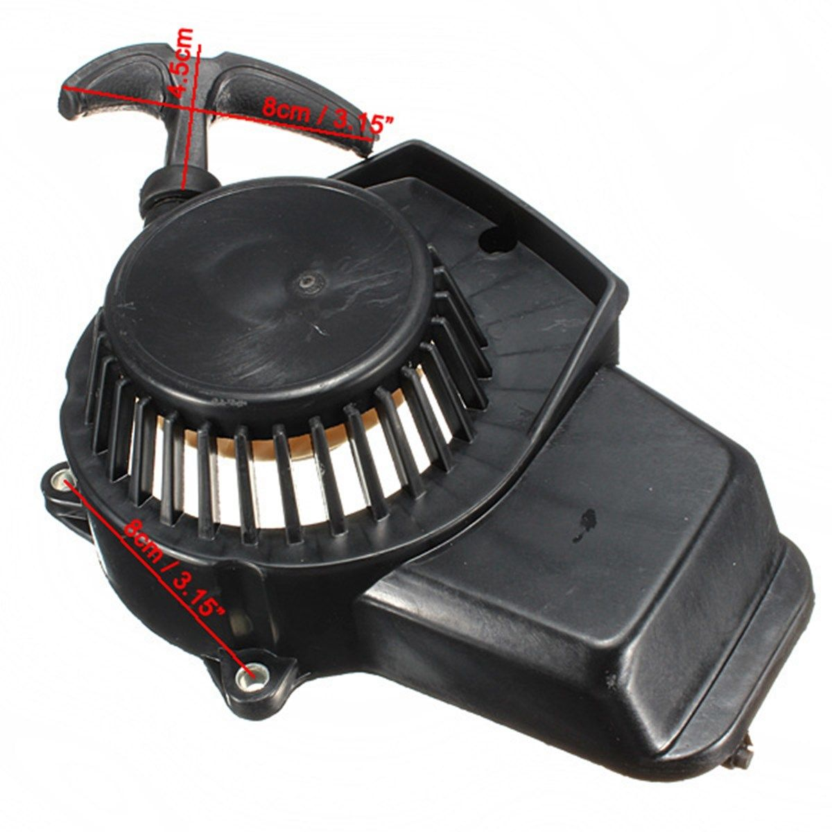 47cc 49cc Pit Dirt Bike Minimoto Mini Quad Pull Start Starter Cord Pullstart Cog