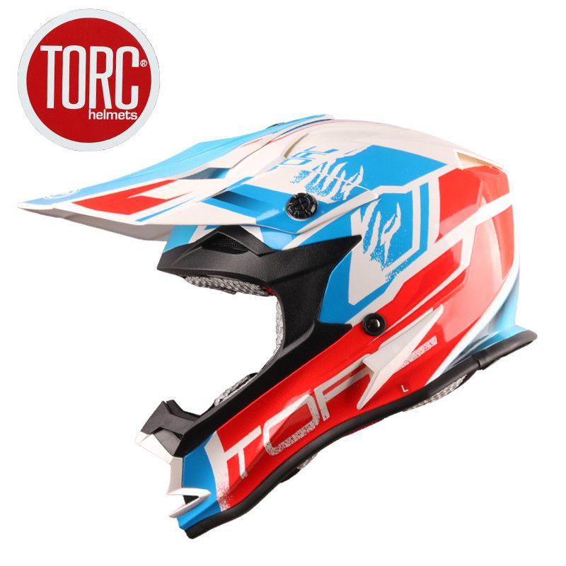 Original TORC T32 casco off-road downhill motocicleta cascos ECE aprobado Road Racing casco de alta calidad casco de la moto