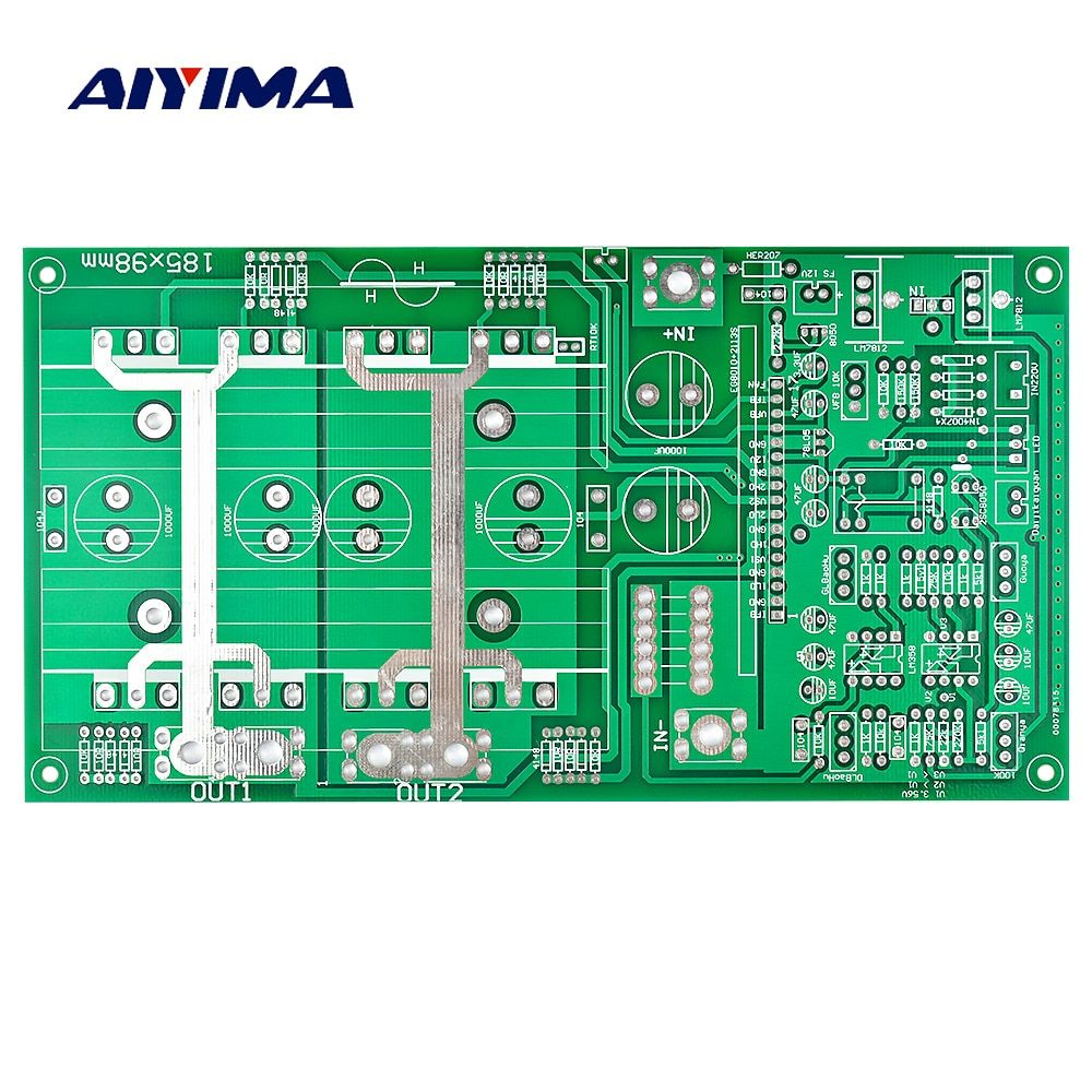 Aiyima 1PC Pure Sine Wave Inverter Empty Board DC12V-60V 1000W-4000W High-Power Frequency Inverte Motherboard PCB Board For DIY