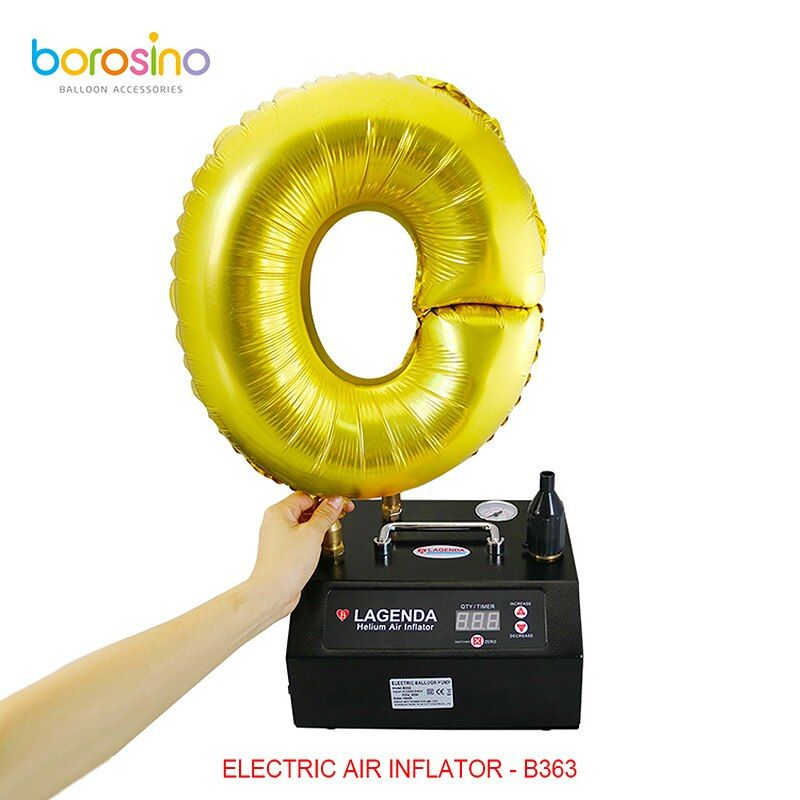 B363 Wedding Decoration Lagenda Electric Air Inflator Balloon Helium Inflator