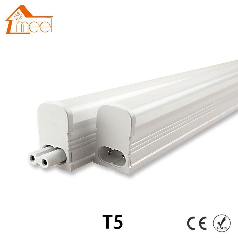 Светодиодный трубки t5 Light 220 В 240 В 30 см 6 Вт 60 см 10 Вт светодиодный лампах T5 настенные светильники холодный белый t5 лампочки