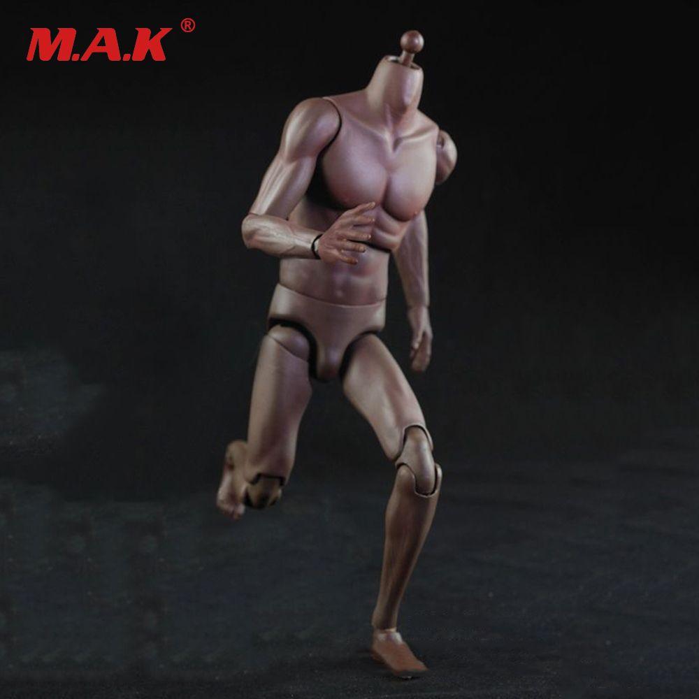 1/6 skala Schwarz Haut Farbe Super Sport Männlichen Beweglichen Körper Figur KEINE. T01 Hohe Version 28.5 cm Sammlungen