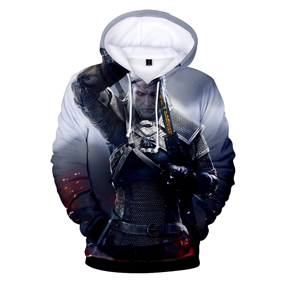 Wizard 3 Garment 3D Print Hoodie WiTCHer 3: Wild Garment Fashion Cool Loose Men/Ladies Long Sleeved Loose Hoodie 2018 New