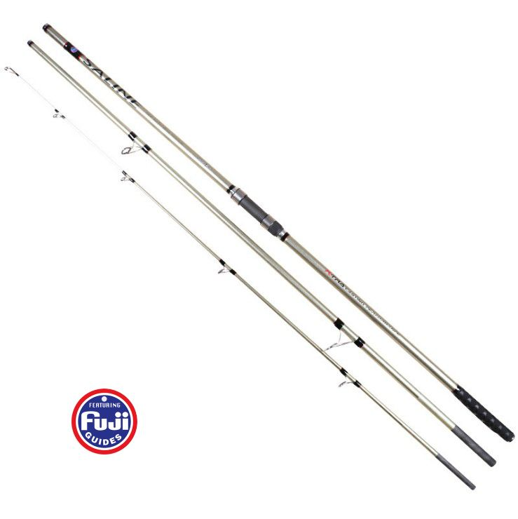 Fuji Accessories 4.2/4.5M 3 sections Carbon SURF fishing rod Distance Throwing Rod Intervene throw Anchor rod casting 100-250g
