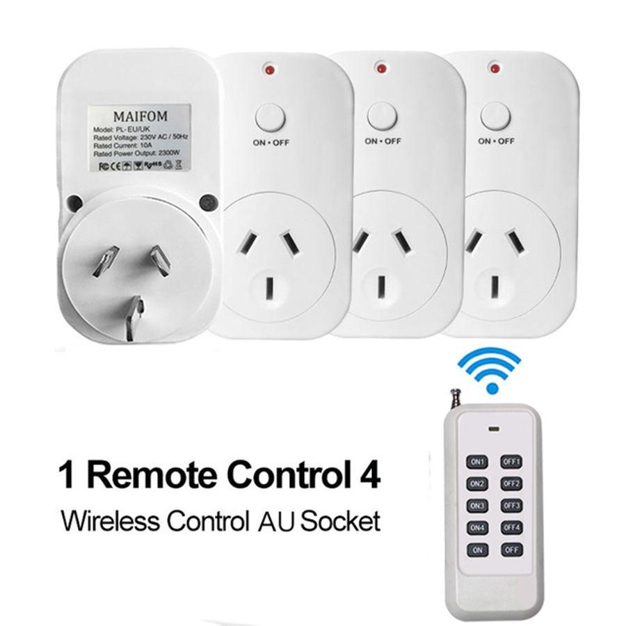 Plug UA Prise Intelligente RF433 Télécommande Prise de Courant Prise Murale Maison Intelligente Électrique Socket 110 ~ 230 V/ AC