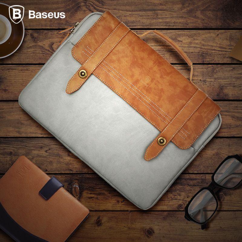 Baseus Universel Portable Sac D'ordinateur Portable Pour Ordinateur Tablette iPad Pro iPod Souple De Protection Sac Adapté Pour Sous 14