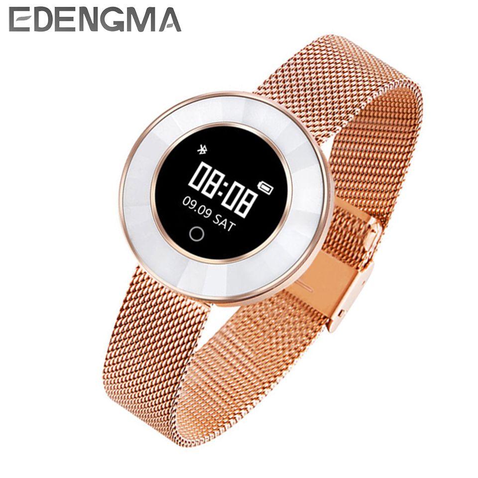 EDENGMA Fitness Smart Bracelet X6 Sleep Monitor Sport Mode Calorie Pedometer Yoga Mode Fitness Wristband for Women tracker/gift