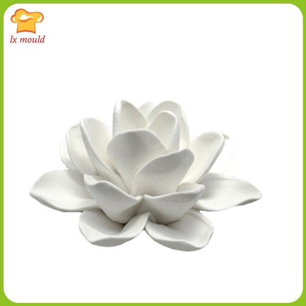 LXYY Creative fashion lilies candle mold  silicone cake molds  mold handmade clay flower