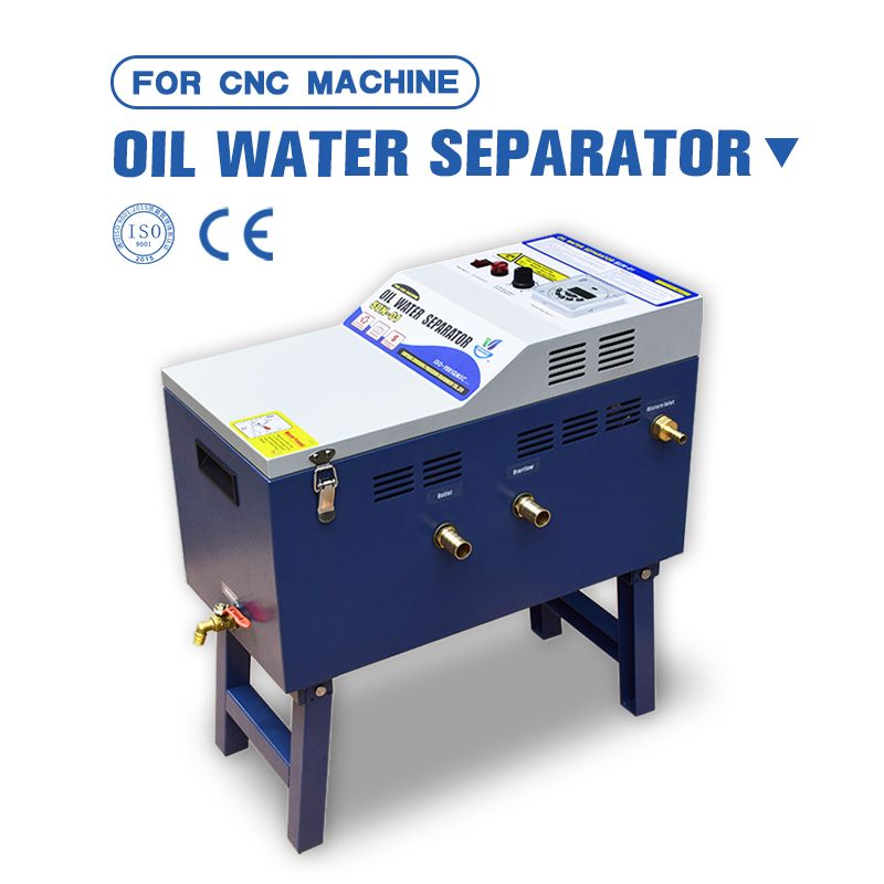 CNC machine tool cutting fluid tank purifier oil water separator