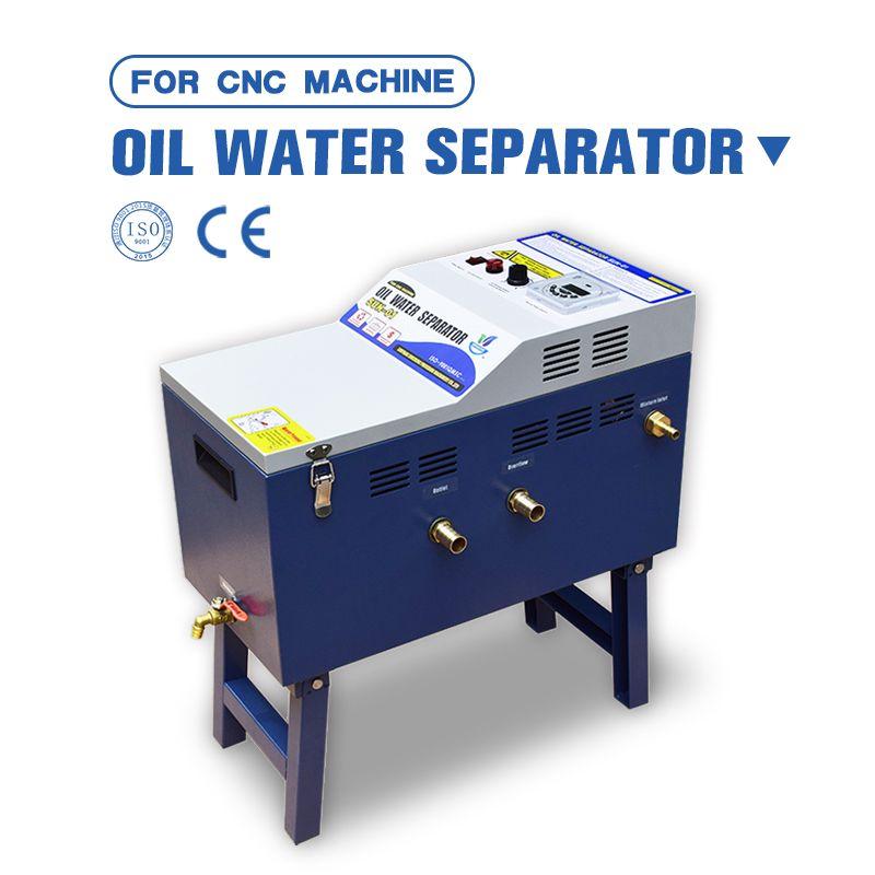 CNC machine tool cutting fluid tank purifier oil water separator