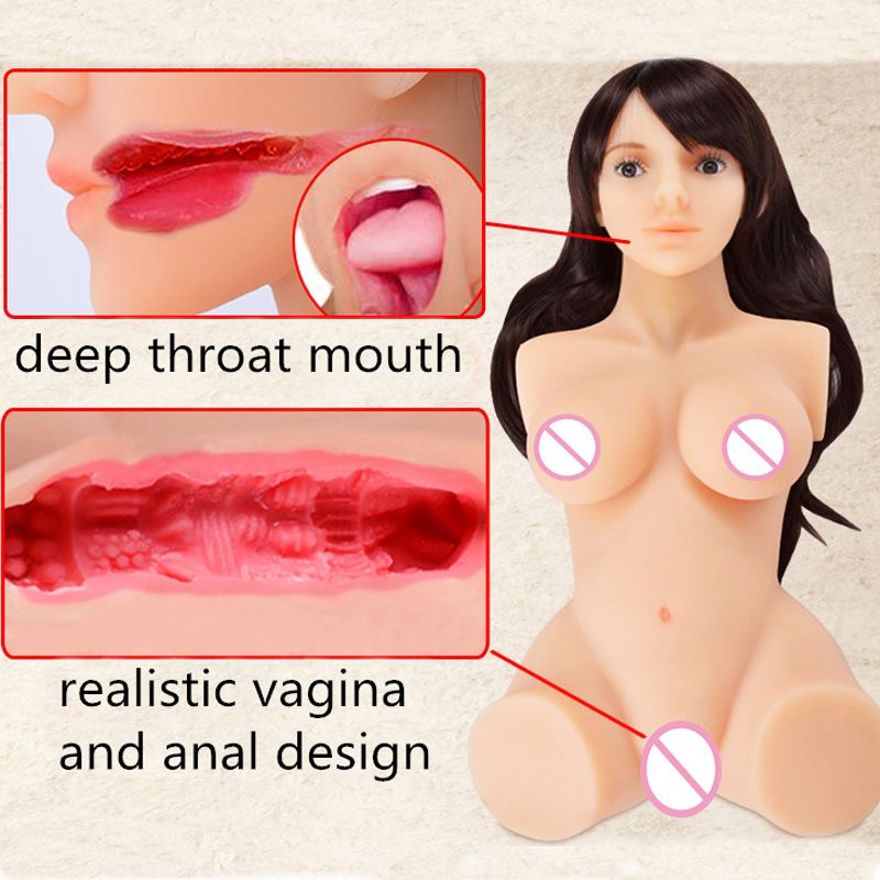 2018 Real Silicone Sex Doll Robot Japanese Anime Full Of Love Man's Realistic Toy Large Breasts Sexy Mini Vagina Adult Life