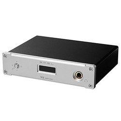 SMSL M6 Hi-Fi Audio USB DAC Digital to Analog Converter with Headphone Amplifier RCA 6.35mm Jack Output AMP 32bit/384khz Black