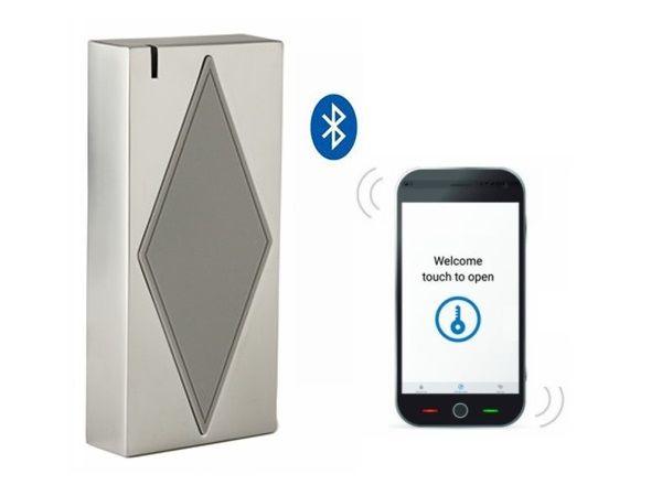 S5-Bluetooth (ID) Envío Libre Bluetooth y Caja de Metal de Control de Acceso del EM del Anti-vándalo Prueba Cumple Con IP66 Doormaster