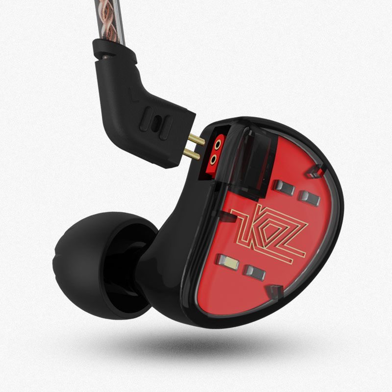 KZ AS10 Ausgewogene Anker In Ohr Kopfhörer HIFI Laufende Sport Kopfhörer Ohrstöpsel Headset Ohrhörer Verbesserte KZ ZS10 ZS6 ZS5 ZST ES4