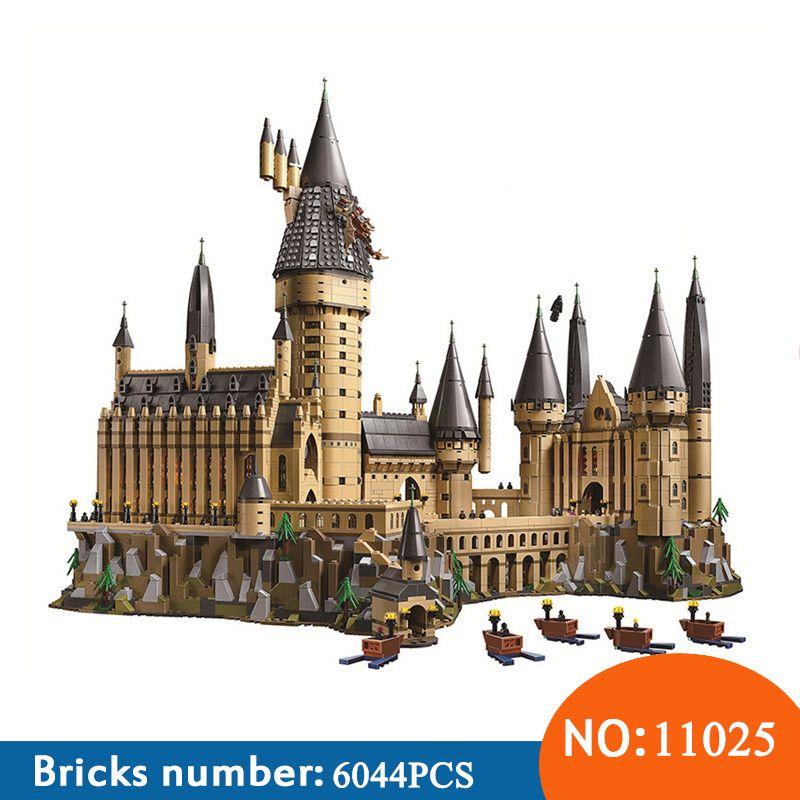 BELA NEUE 11025 Harry Magie Potter Hogwarts Castle Kompatibel 71043 Bausteine Ziegel Kinder Pädagogisches Spielzeug Für Kinder