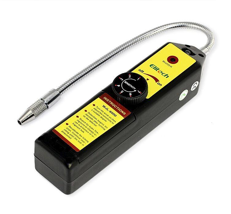 Gas detector gas leak detector Freon gas <font><b>analyzer</b></font> CFC HFC Halogen Gas Refrigerant Leak Detector Air Conditioning R22a R134a