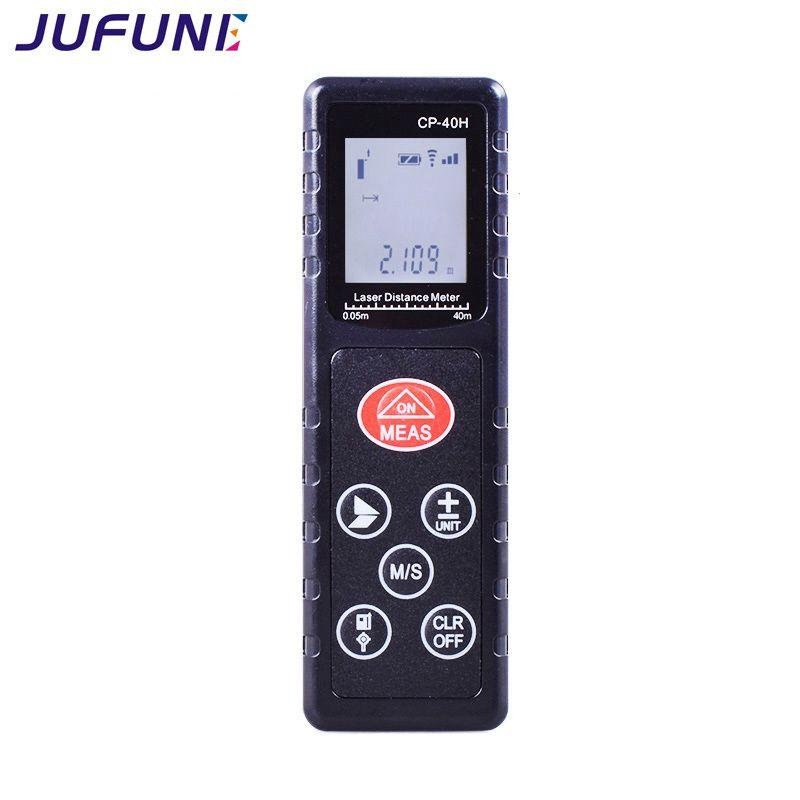 Jufune Mini Laser Distance Compteur Numérique Ruban Mesureur 40 m, 60 m, 80 m, 100 m