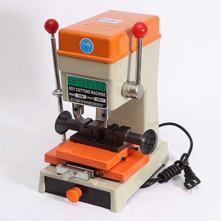 Newest Laser Defu Car Key Cutting Copy Duplicating Machine 368a With Full Set Cutters For Making keys Locksmith Tools Parts